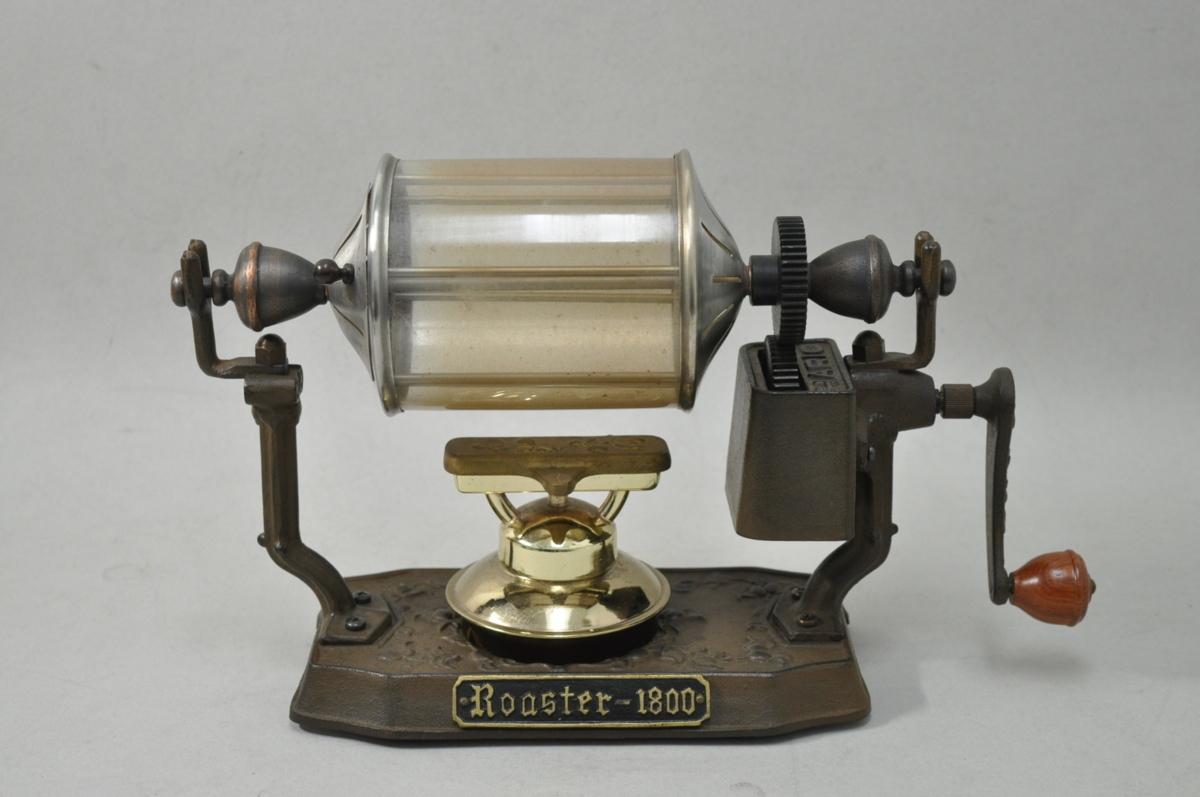 HARIO ハリオ Roaster 1800 コーヒー焙煎機 ガラス製 手動式