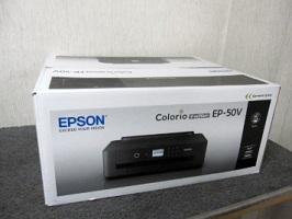 エプソン カラリオ インクジェットプリンター EP-50V