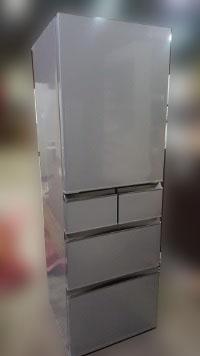 調布市にて アクア 冷蔵庫 AQR-SD42D を出張買取しました