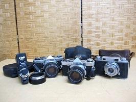 杉並区にて レトロカメラまとめ フィルムカメラ を出張買取しました
