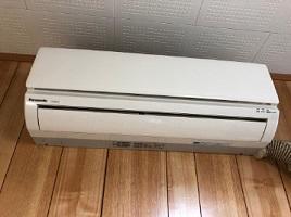 立川市にて パナソニック エアコン CS-362CF2 を出張買取しました