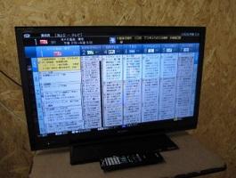 シャープ AQUOS 32V型 液晶テレビ LC-32H10