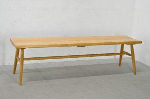 柏木工 LC06 ベンチチェア オーク材 飛騨家具
