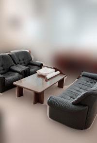川崎市にて カリモク 応接セット テーブル ソファ を出張買取しました
