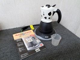 川崎市にて ビアレッティ カプチーノメーカー MK01 を出張買取しました