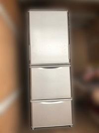 相模原市にて シャープ 冷蔵庫 SJ-WA35-B を出張買取しました