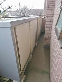 横浜市港北区にて イナバ物置 シンプリー を出張買取しました