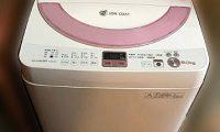 洗濯機 シャープ ES-GE60M