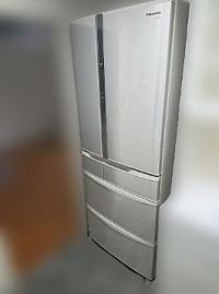 杉並区にて パナソニック 冷蔵庫 NR-FTF457-Nを出張買取しました