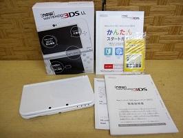 小金井市にて Newニンテンドー3DS LL RED-001 を店頭買取しました