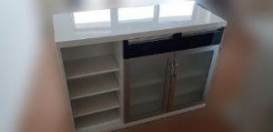 ニトリ キッチンカウンター D530 W1200