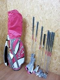 川崎市にて キャロウェイ ソレイル レディースゴルフを宅配買取しました