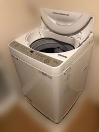 昭島市にて シャープ 全自動洗濯機 ES-GE6D を出張買取しました