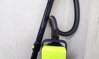 シャープ スリムボディ 紙パック式 キャニスター型 掃除機 EC-KP15-Y
