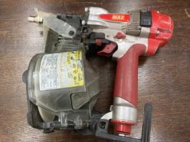 川崎市にて MAX 高圧釘打機 HN-65N1 を店頭買取しました