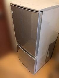 狛江市にて シャープ 冷凍冷蔵庫 SJ-D14C を出張買取しました