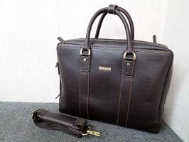 川崎市にて ブルックスブラザーズ レザー ビジネスバッグ を出張買取しました
