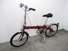 横浜市港北区にて ダホン 折り畳み自転車 ROUTE を出張買取しました