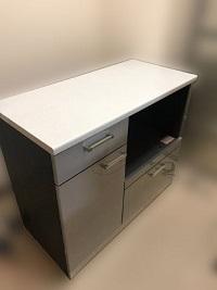 厚木市にて 綾野製作所 レンジ台 キッチンカウンター を出張買取しました