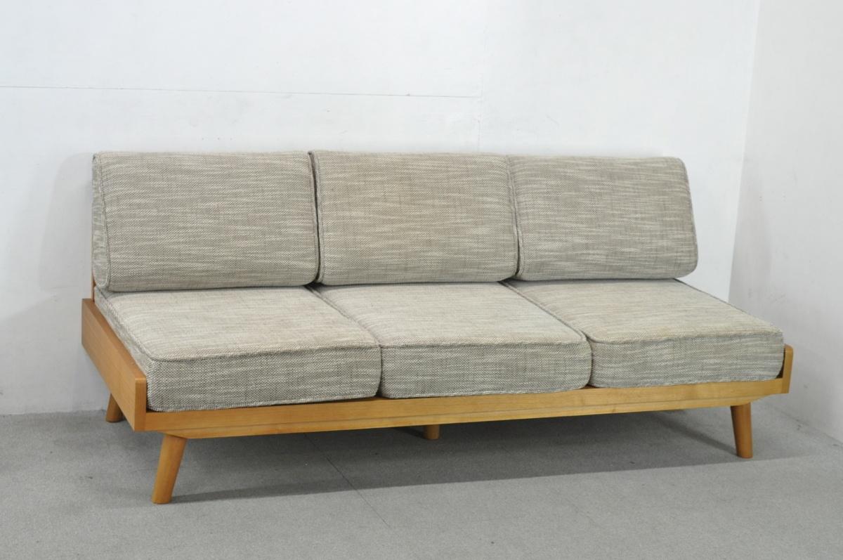 横須賀市にてウニコ/UNICO ALBERO/アルベロ 3人掛けソファを出張買取しました。