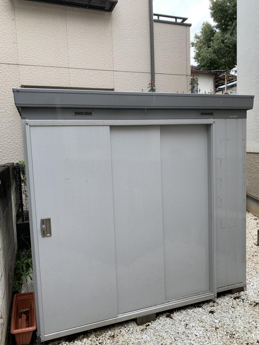 鎌倉市にて イナバ物置 NEXTA+ NXP-30ST スタンダード 扉タイプ 断熱材入りを出張買取しました