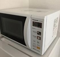 世田谷区にて パナソニック 電子レンジ NE-EH229-W を出張買取しました