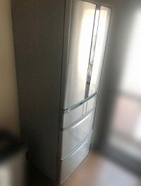 世田谷区にて 日立 冷凍冷蔵庫 R-F440E を出張買取しました