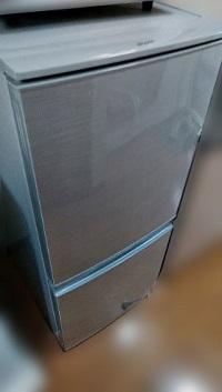 世田谷区にて シャープ 冷凍冷蔵庫 SJ-D14AS 2014年製を出張買取致しました