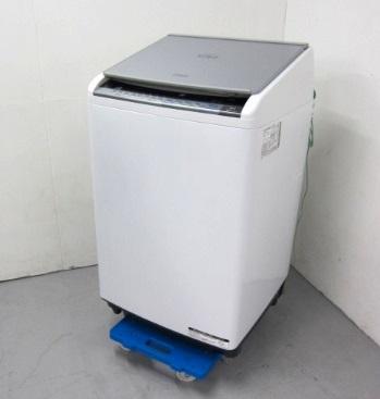 調布市にて 日立 洗濯乾燥機 BW-D8WV を出張買取しました
