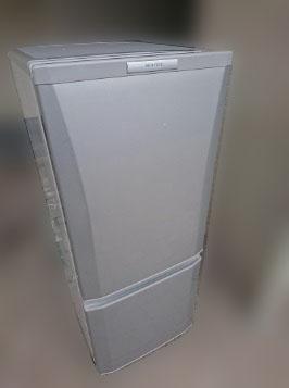 小平市にて 三菱 冷凍冷蔵庫 MR-P15X-S を出張買取しました