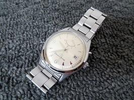オリエントスター 腕時計 メンズ パワーリザーブ 裏スケルトン