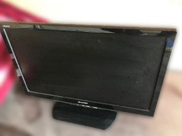 東村山市にて シャープ 液晶テレビ LC-22K20 を出張買取しました