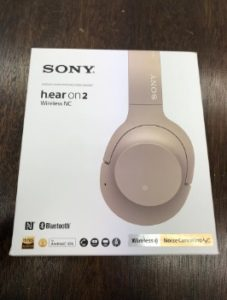 SONY ワイヤレスステレオヘッドセット h.ear on 2 Wireless NC WH-H900N
