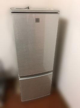 西東京市にて シャープ 冷凍冷蔵庫 SJ-PD17T を出張買取しました