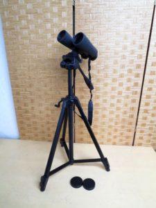ビクセン ASCOT 双眼鏡 10×50WP VELBON 三脚 EX-430 セット