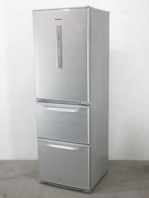 茅ヶ崎しにて Panasonic 3ドア冷蔵庫 NR-C37DM-S 365L 2016年製を出張買取しました