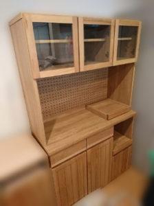 KEYKCA 食器棚 W1045
