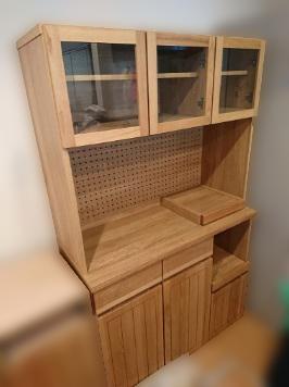 杉並区にて KEYKCA 食器棚 W1045 を出張買取致しました