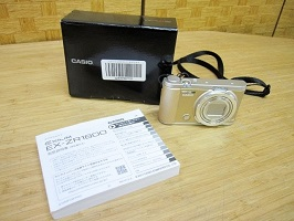 大田区にて カシオ EXILIM デジタルカメラ EX-ZR1800 を出張買取しました