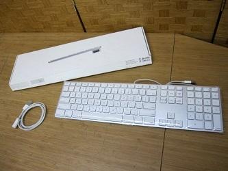 八王子市にて Apple USB キーボード A1243 を出張買取しました