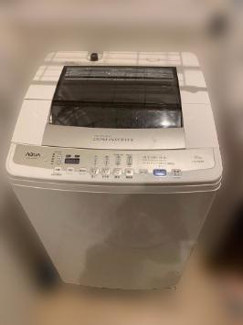 多摩市にて アクア 全自動洗濯機 AQW-V700D を出張買取しました