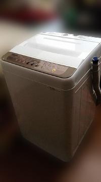 東久留米市にて パナソニック 全自動洗濯機 NA-F60PB11 を出張買取しました