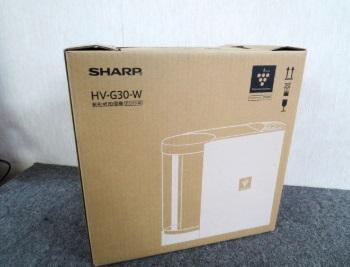 相模原市にて シャープ 気化式加湿器 HV-G30-W を出張買取しました
