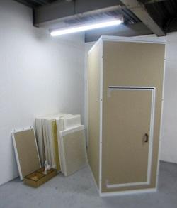 小金井市にて だんぼっち トール 簡易防音室 組み立て式 を出張買取しました