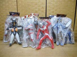 ウルトラマン 仮面ライダー ビッグサイズ ソフビフィギュア 11体