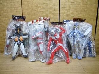 相模原市にて ウルトラマン 仮面ライダー ソフビフィギュア を出張買取しました