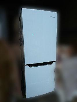 小平市にて ハイセンス 冷蔵庫 HR-D15A を出張買取しました