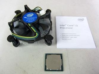 八王子市にて Intel CPU Core i3-8100 CPUファン を出張買取しました
