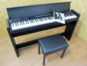 小金井市にて コルグ 電子ピアノ LP-380 椅子付き を出張買取しました