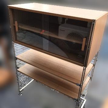 江戸川区にて 無印良品 ユニットシェルフ H140 W100 を出張買取致しました